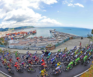 SAL - 15 05 2014 Salerno Giro d'italia passaggio a salerno Foto Tanopress