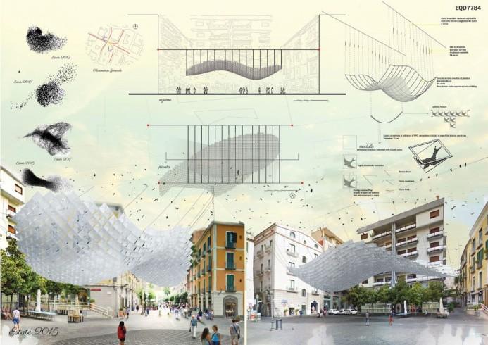 Ombre d'Artista: ecco come cambierà piazza Portanova - aSalerno.it