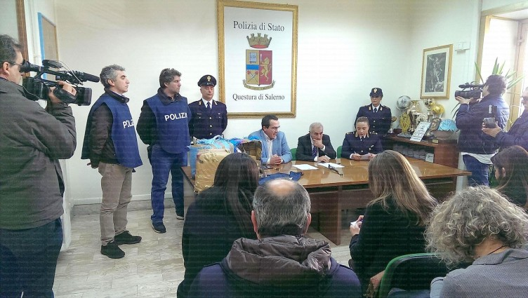 Preso trafficante con 94 kg. di hashish - aSalerno.it