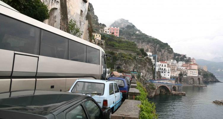 Costiera, scattano i lavori sul costone di Conca dei Marini - aSalerno.it