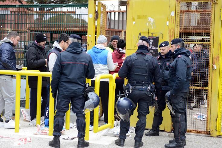 Oltraggio ai Carabinieri, Daspo di 1 anno per un tifoso granata - aSalerno.it