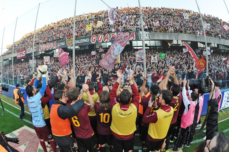 Salernitana-Reggina 2-1. Tutto nel primo tempo, granata in fuga - aSalerno.it