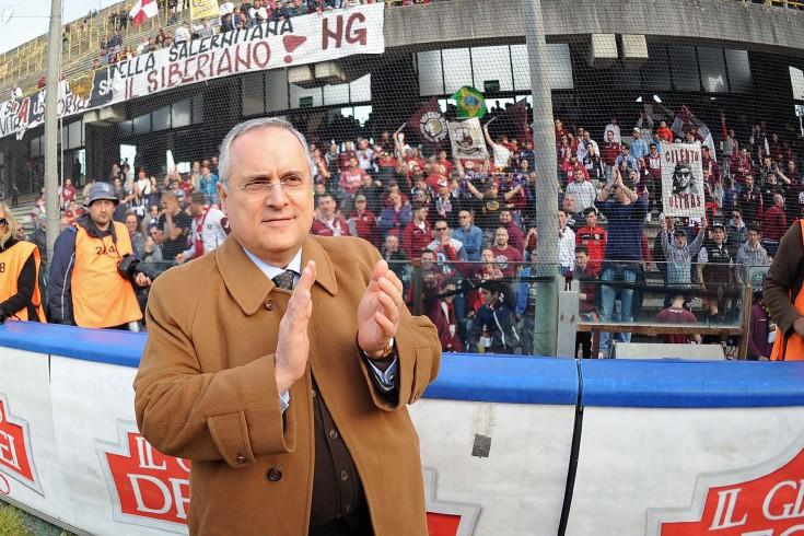 """Lotito: """"Mercato chiuso, a ottobre torna Nalini e poi c'è Odjer"""" - aSalerno.it"""