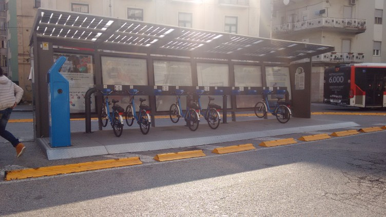 Novità per il bike sharing - aSalerno.it