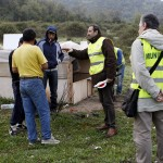 SAL - 17 04 2015 Salerno Sgombero Rumeni Via Marchiafava foto Tanopress