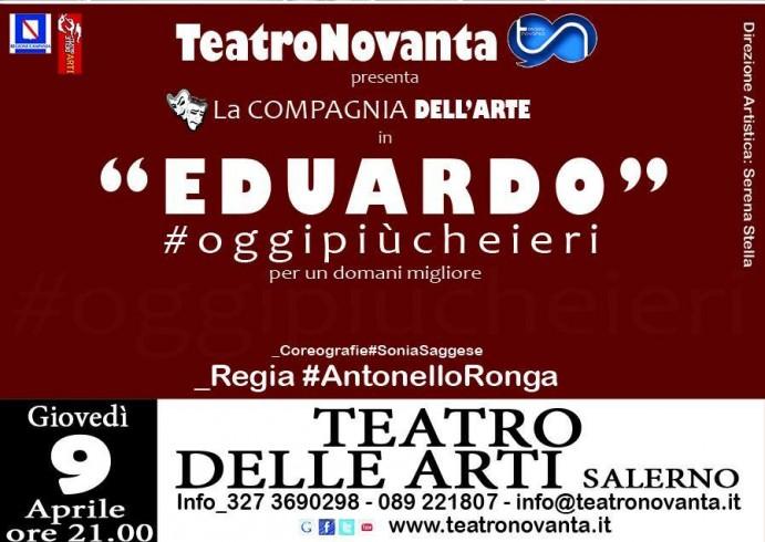 Teatro delle arti di Salerno, #oggipiucheieri per un domani migliore - aSalerno.it