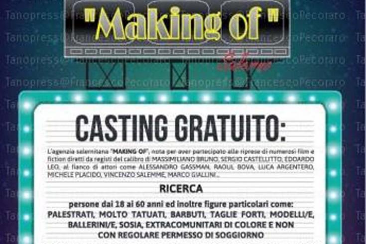 Making of Salerno torna con un nuovo casting - aSalerno.it