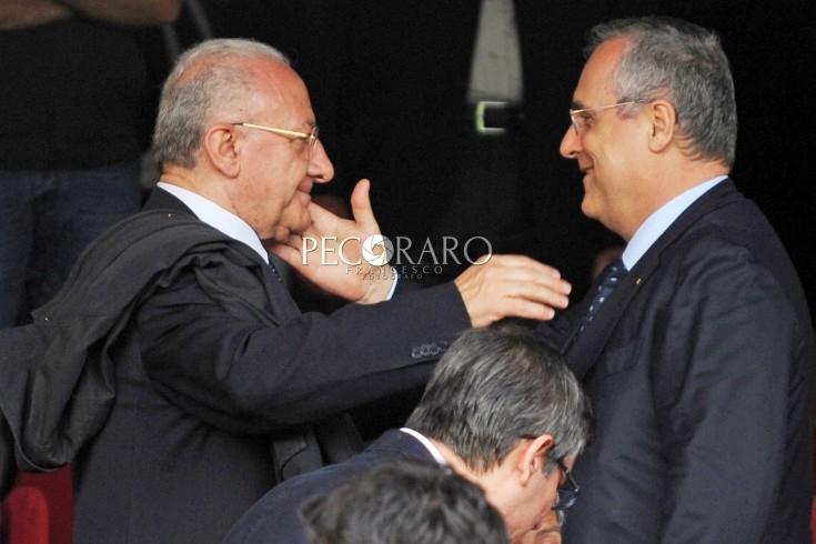 """Lotito risponde a De Luca: """"Cinque anni di Serie B sono già un risultato importante"""" - aSalerno.it"""