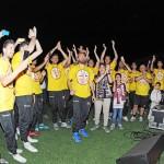 32 i giocatori della salernitana fanno festa in campo