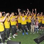 33 i giocatori della salernitana fanno festa in campo