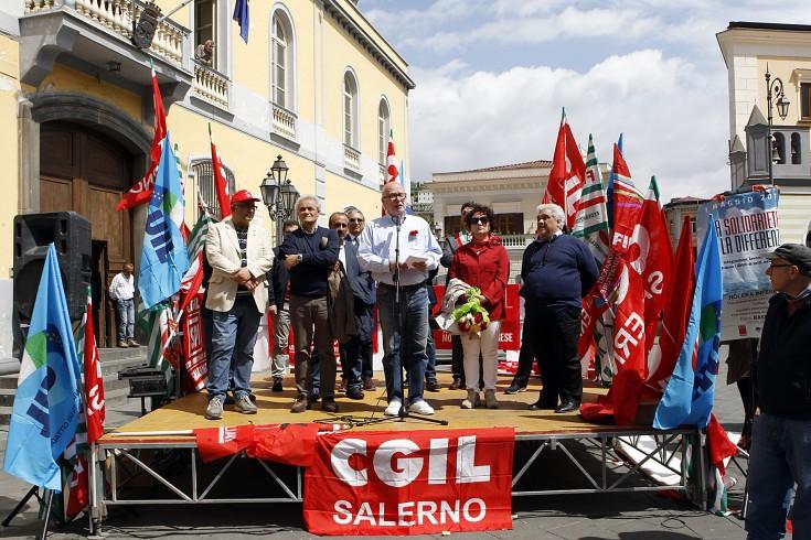 Fillea Cgil sulle opere programmate per San Matteo - aSalerno.it