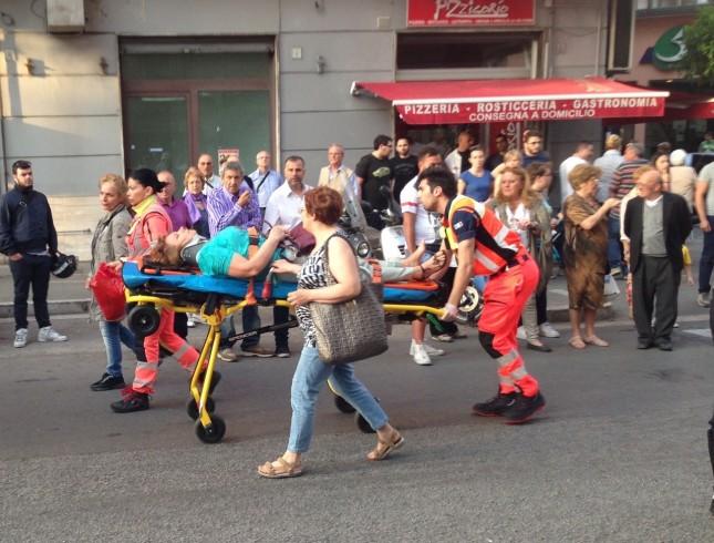 Incidente tra via Baratta e via Mobilio - aSalerno.it