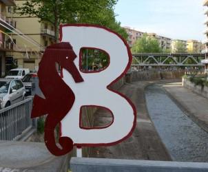 08 05 2015 Salerno addobbi in città per la festa promozione della salernitana