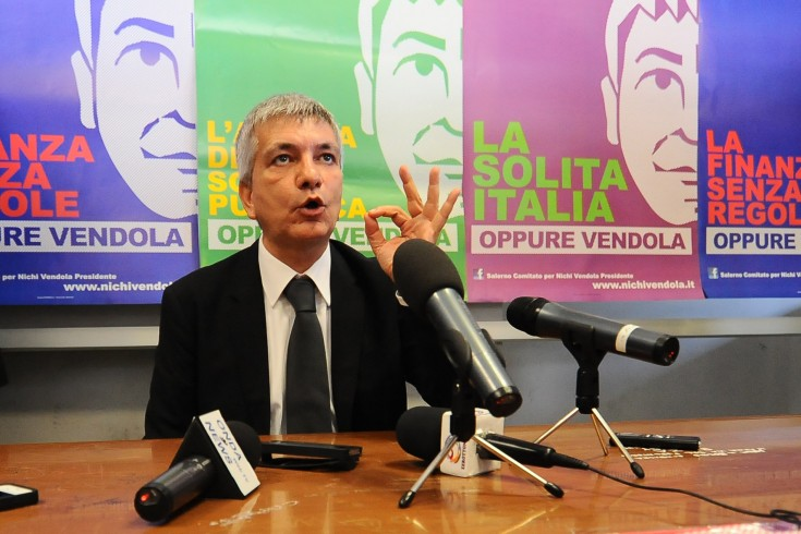 Domani Nichi Vendola a Salerno - aSalerno.it