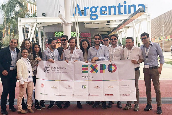 Giovani imprenditori salernitani all'Expo 2015 - aSalerno.it