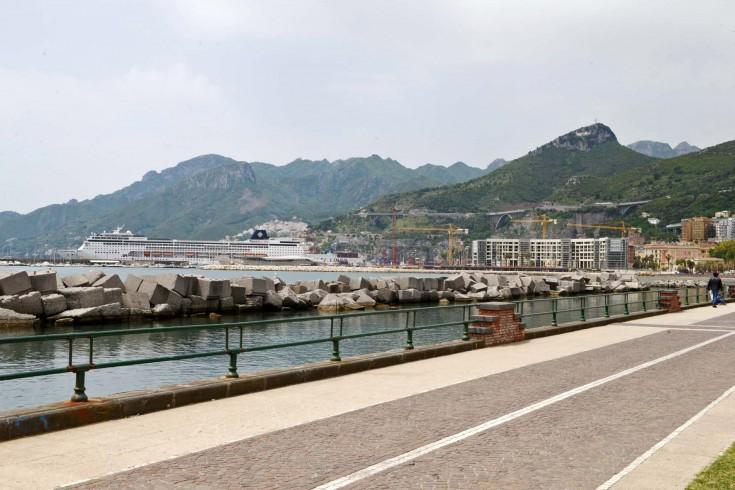 Lungomare allagato, Salerno Sistemi a lavoro - aSalerno.it