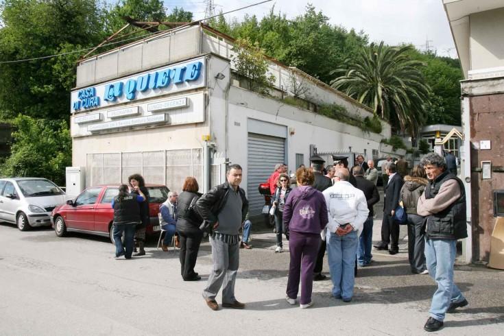 Casa di cura La Quiete, occupata dai dipendenti - aSalerno.it