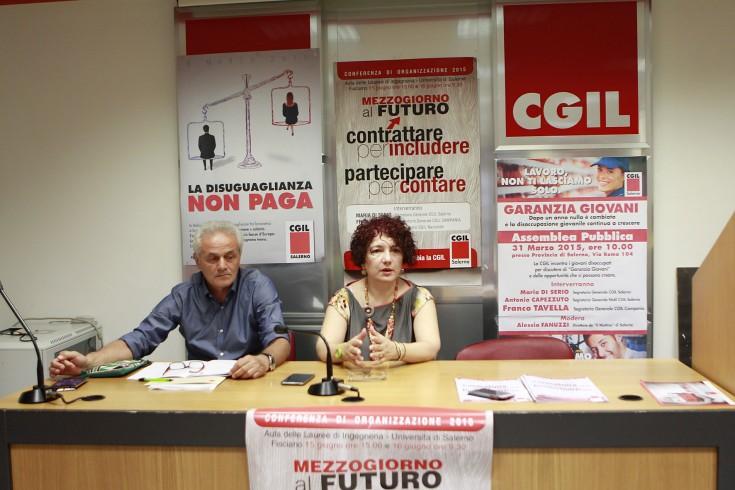 Perquisizioni in casa Aliberti: parla la Cgil - aSalerno.it