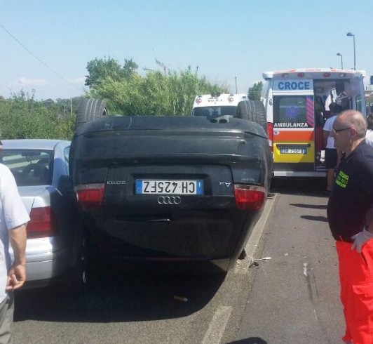 Incidente stradale, due feriti - aSalerno.it