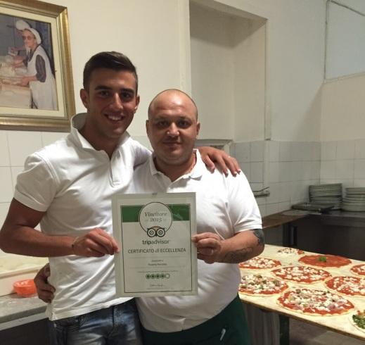 L'antica Pizzeria Perrotta vince il premio Eccellenza TripAdvisor - aSalerno.it
