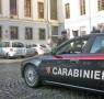 26 11 2012 carabinieri davanti al comune di Cava De Tirreni