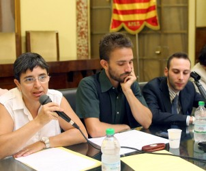 28 07 2011 presentazione del coordinamento campania rainbow al comune di salerno