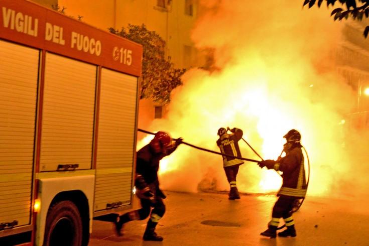 Sassano: vasto incendio, indagano i carabinieri - aSalerno.it