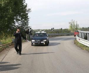 Sal : Incidente stradale Persano vittime dell'incidente quattro militari. Nella foto la statale dove hanno perso la vita i quattro militari (Foto Francesco Pecoraro)