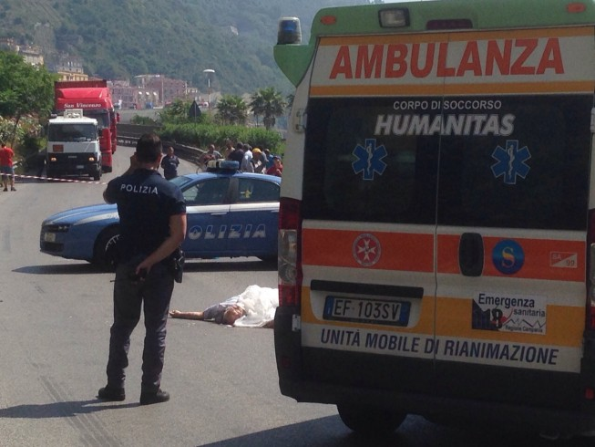 Uomo si suicida lanciandosi dal viadotto Gatto - aSalerno.it
