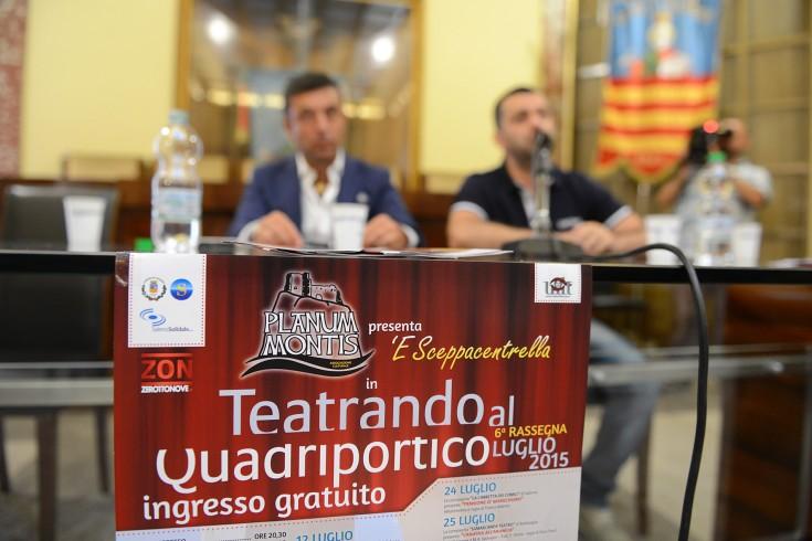 """Torna """"Teatrando al Quadriportico"""": 18 spettacoli nel cuore di Salerno - aSalerno.it"""