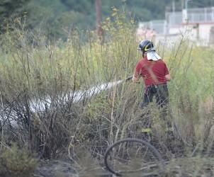 27 08 2012 Incendio Monte San Liberatore Vietri sul Mare