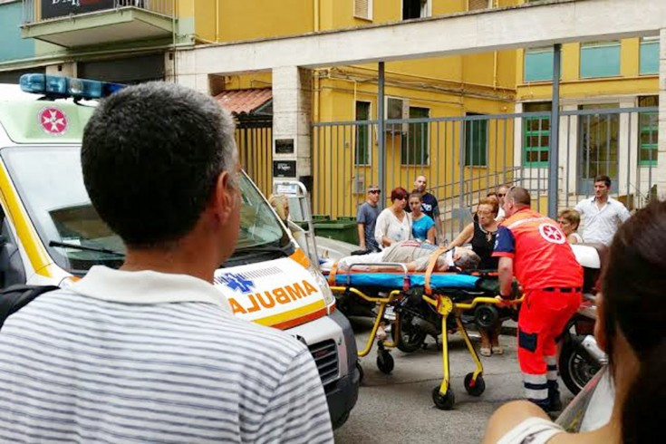 Incidente a Pastena, investito anziano in bicicletta - aSalerno.it