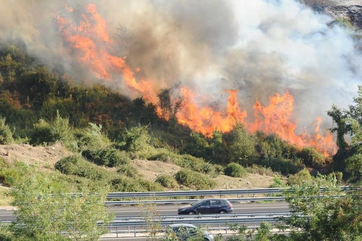 Emergenza caldo, 18 gli incendi divampati in Campania - aSalerno.it