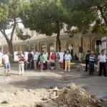 Salerno : inaugurazione impianto illuminazione piazza vittorio veneto (Foto Tanopress)