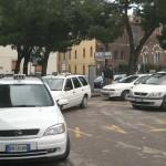 Salerno : Taxi stazione ferroviaria (Foto Tanopress)