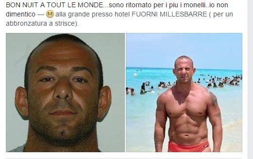Castagna ai domiciliari, l'annuncio su Facebook - aSalerno.it