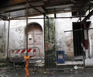 07 02 2015 Salerno Porta Rateprandi Incendio Palazzo