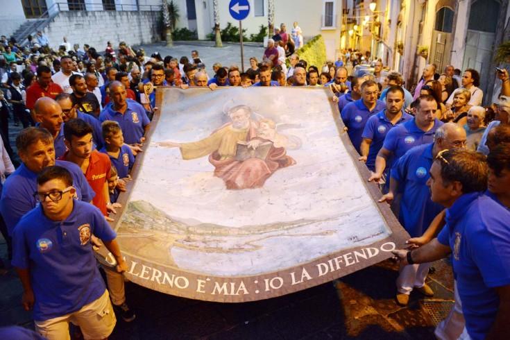 San Matteo, questa sera la tradizionale alzata del Panno - aSalerno.it