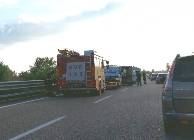 Campagna, violento incidente in autostrada - aSalerno.it
