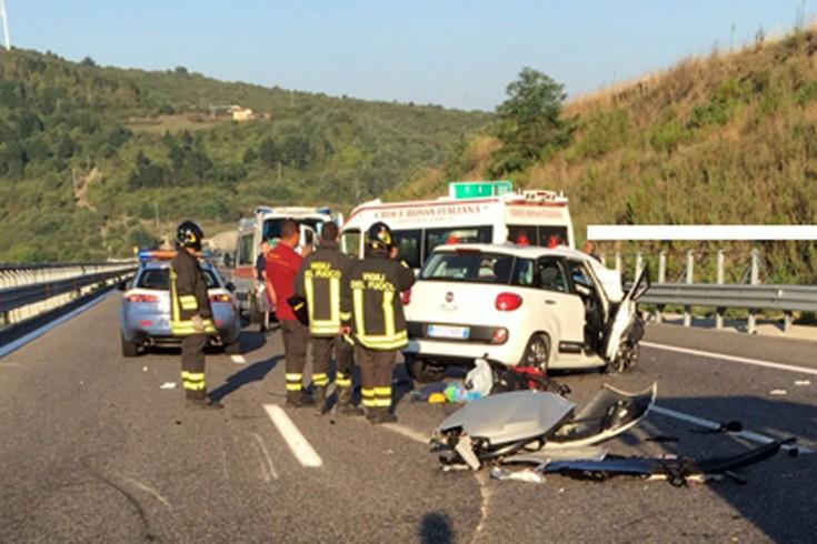 Incidente sulla A1, ferito giovane 14enne salernitano - aSalerno.it