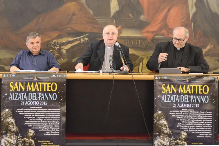 San Matteo, Moretti entrerà al Comune con la reliquia - aSalerno.it
