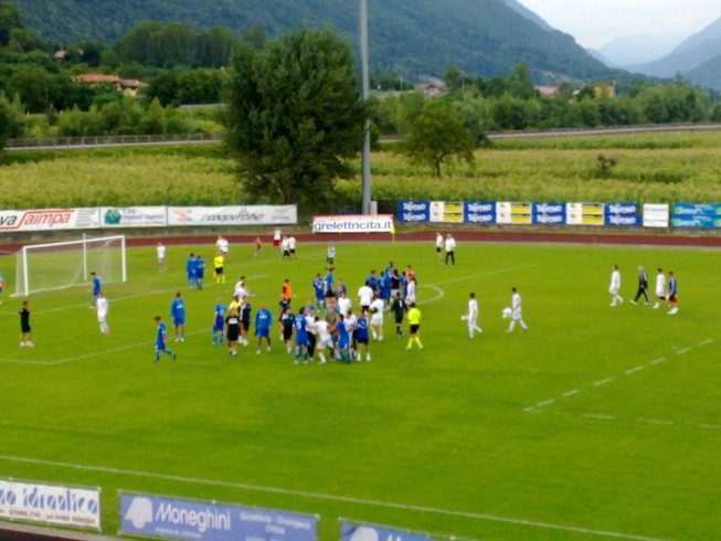 Cilento: partita di calcio in ricordo di Nicola Romito, è rissa - aSalerno.it