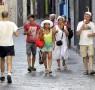 13 08 2014 Salerno Turisti in giro per la Città