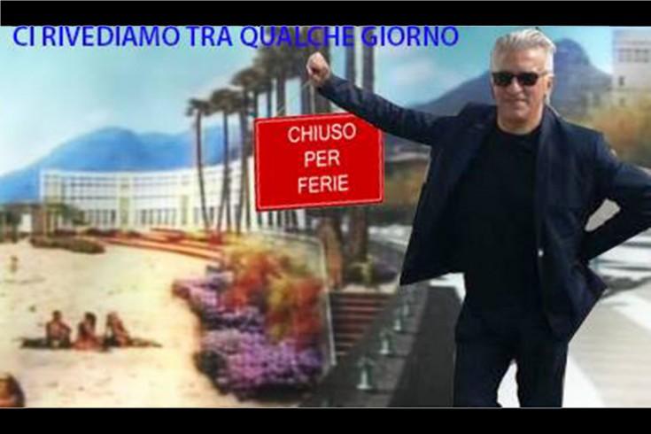 """L'ironia del Sindaco Napoli: """"chiuso per ferie"""" - aSalerno.it"""