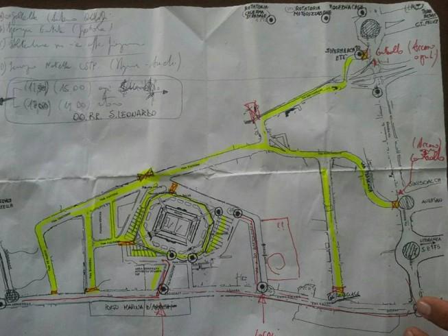 Ulteriore modifica al piano traffico per il derby - aSalerno.it