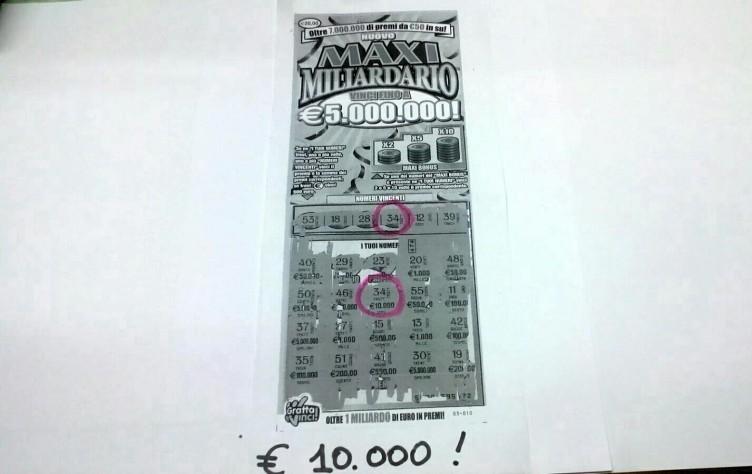 Pagani, Gratta e vinci da 10 mila euro alla Lamia - aSalerno.it