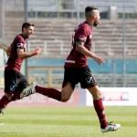 Calcio: Brescia Salernitana  , goal 0-1