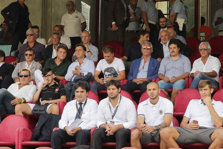 Anche Peppino Pavone in tribuna - aSalerno.it