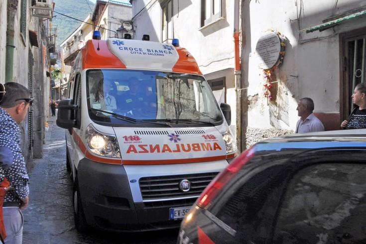 Impatto violento tra scooter e auto a Vietri sul Mare - aSalerno.it