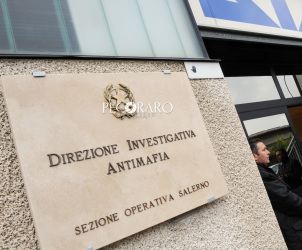 21 01 2014 Salerno inaugurazione nuova sede della DIA Direzione Investigativa Antimafia  in via Wenner